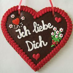 Gehirngefickt.: Schönste Sprüche auf <b>Lebkuchenherzen</b>...