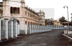 Malabo, (Guinea Ecuatorial), 20-8-1979.- Residencia de los Misioneros y parte del muro que mandó construir Macías en 1973, de 4 metros de alto, que delimitan áreas circundantes al palacio presidencial. EFE/aalafototeca.com Image : efesptwo084898