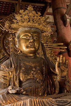 Kokūzō Bosatsu, Bodhisattva of Wisdom And Memory,Tōdai-ji by jasonracey, via Flickr