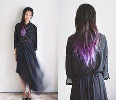 Just the tip ;) Black/Brown/Purple/Lavender Hombre