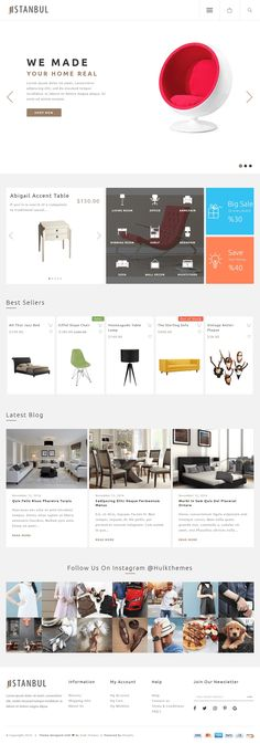 $24 Istanbul   eCommerce Responsive Shopify Theme   Istanbul has a #captivating, #BIGfonts, #modern and #stylish look; 100% #responsive #SEOfriendly #premium #Shopify theme compatible with ANY industry #multipurpose #eCommerce website with #easy-to-#navigate-look.   Download now➩https://www.hulkthemes.com/products/istanbul-shopify-theme