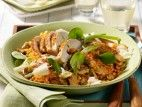 Lauwarmer Linsensalat mit Hähnchenfilet und Parmesan Rezept - Chefkoch-Rezepte auf LECKER.de | Kochen, Backen und schnelle Gerichte