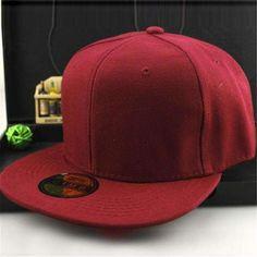 acc2fb752eb Solid Baseball Cap (19 colors)