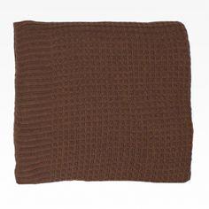 Multiusos de punto con elastán color marrón