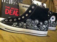 Walking Dead Shoes - the zombies.