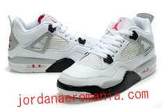 3fdffddc123 Enfant Air Jordan 4 Blanc Cement