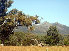 View of Perongorups, Western Australia