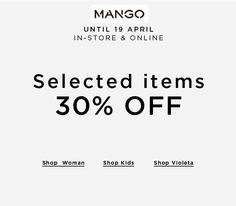 Bring in your Poila Baishak with #Mango 30% off selected items #ForumCourtyard