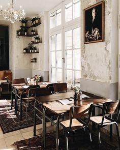 Vienna Picks: Cafe Hildebrandt Wien Volkskunde Museum, The Daily Dose Cafe Interior, Interior Design, Drake Quotes, Lokal, Cafe Design, Vienna, Affirmation Quotes, Wisdom Quotes, Vestidos
