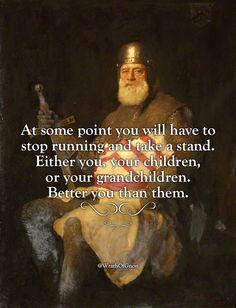 Take a stand;)