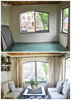 Sunroom Decorating and Design Ideas   For the Home   Pinterest     7 Decorating Lessons to Learn From This Stylish Sunroom Makeover   Liz  Marie Blog Sunroom Decorating