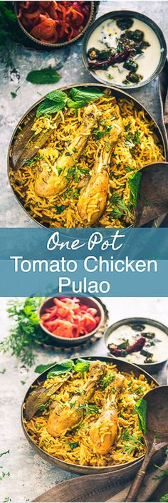 One Pot Tomato Chicken Pulao Recipe is a finger licking dish made keeping in mind the satiating blend of chicken, tomatoes and aromatic basmati rice. Indian I Chicken I Rice I recipe I Pulao I Pilaf I Pulav I Easy I Simple I Quick I No clean I Best I Delicious I