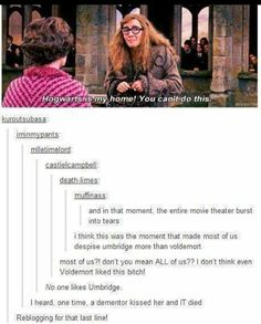 I HATE UMBRIDGE WITH EVERY FIBER OF MY BEING!