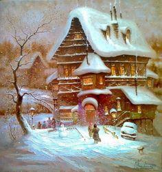 Волшебница Зима / Д.Крутоус. Обсуждение на LiveInternet - Российский Сервис Онлайн-Дневников
