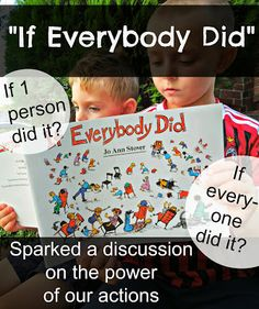 """Children's Book on the Power of Our Actions: """"If Everybody Did"""" 