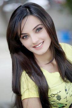 Pakistani model Sadia Hayat Khan has done many fashion shoots for different clothing labels.