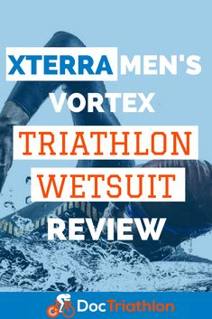 Today I am going to be reviewing the XTERRA Vortex Triathlon Wetsuit, which is the wetsuit I use personally in any swim that USAT or WTC allows. But assuming you are doing a wetsuit legal Tri, and in need of a suit, then you have come to the right place! #wetsuit #triathlon #swimming #triathlontraining #doctriathlon Triathlon Swimming, Triathlon Wetsuit, Triathlon Gear, Triathlon Training, Marathon Training, Swimming For Beginners, Cycling For Beginners, Swimming Strokes, Triathlon Motivation