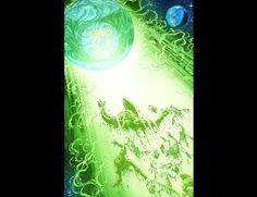 Green Lantern Mogo by Mike S Miller