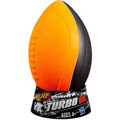 Nerf Football Hasbro A9715 Nerf Sports Turbo Junior New in Package 4+