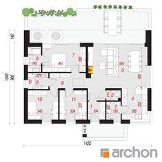 Projekt domu Dom w lulo - ARCHON+ Malaga, Floor Plans, Arquitetura, House