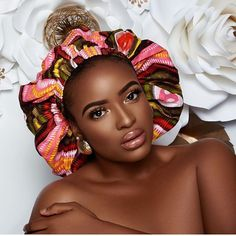 Inspired by the Afrocentric Heritage, the ankara silk bonnets have been crafted with the finest quality of ankara and silk Fabric to keep you super stylish and Silk Bonnet, Hair Bonnet, African Accessories, Hair Accessories, Short Gowns, Silk Hair, Designer Lingerie, Types Of Dresses, Bad Hair Day