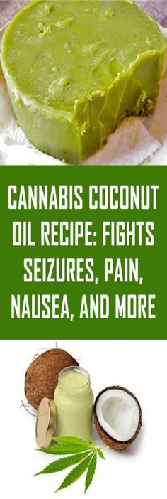 Cannabis Coconut Oil Recipe: Fights Seizures, Pain, Nausea, and More - healthyoftoday Weed Recipes, Marijuana Recipes, Cannabis Edibles, Soap Recipes, Coconut Oil Health Benefits, Medical Benefits Of Cannabis, Coconut Oil For Acne, Cbd Hemp Oil, Recipes