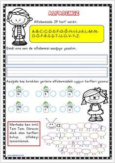 Grade 1, First Grade, Special Education, Science, School, Mini, Math Assessment, Rage, Turkish Language