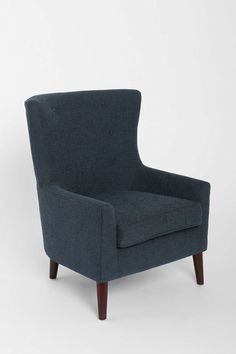 """Frankie Chair (blue), - 29""""W x 31.5""""D x 36""""H - $379 at Urban Outfitters online only"""