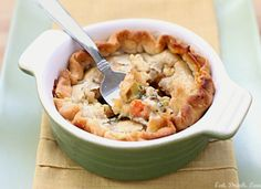 Vegetarian Christmas Dinner Veggie Pot Pies