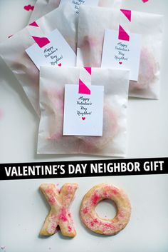 """happy valentine's day, neighbor"" free printable for neighbor gifts!"