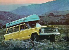1973 Jeep Wagoneer. I can't believe my parents owned one of these, would love to have this car!!!
