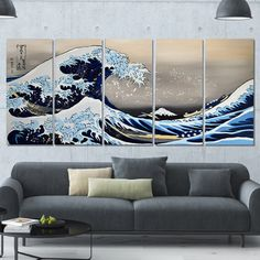 Hear Him Roar' Large Gallery-wrapped Canvas Art | Overstock.com Shopping - The Best Deals on Canvas