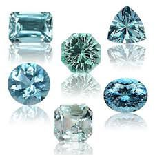 Beautiful variations in March birthstone, the Aquamarine