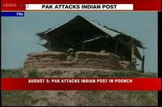 Pakistani troops, terrorists kill 5 Indian soldiers at the LoC in Poonch.