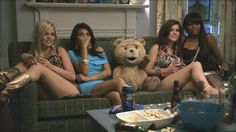 """Ted (voiced by Seth MacFarlane): """"Somewhere out there are foyr terrible fathers I wish I could thank for this great night."""" -- from Ted directed by Seth MacFarlane Seth Macfarlane, Mtv Movie Awards, Funny Movies, New Movies, Good Movies, Comedy Movies, Netflix Movies, Joel Mchale, Mila Kunis"""