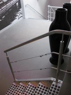 Trappengang van Hotel de Weverij. #gietvloeren