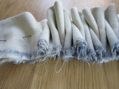 japanese technique of folding, stitching & resist bind dyeing (shibori)  __ by Liz Spencer - Natural Dyeing