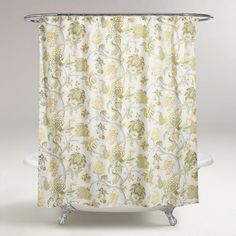 $29One of my favorite discoveries at WorldMarket.com: Gwendolyn Shower Curtain