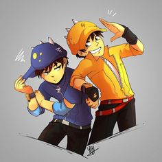 Anime Galaxy, Boboiboy Galaxy, Boboiboy Anime, Elemental Powers, Short Comics, Face Expressions, Painting Tools, Art Reference Poses, Doraemon