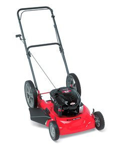 Age 26 months. Obsession: Lawn Mowers!