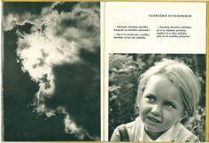 Rhymes by František Hrubín, photos by Dagmar Hochová. Bookbinding, Editorial Design, Prague, Play, Pictures, Book Binding, Editorial Layout