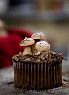 "Mini buche de Noel, Woodland Cupcake (by ""See The Light"")"
