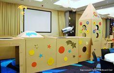 Cardboard maze (2)