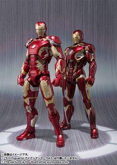 Iron Man Mark 45 Vengadores 2 Figura Revealed - Cosmic Noticias libro