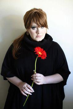 Adele, great bangs.