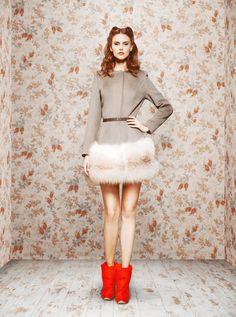 Designer: Ulyana Sergeenko  Campaign: Fall Winter 2011 Lookbook  Photography: Ulyana Sergeenko