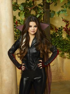 Selena Gomez as Alex Russo in The Wizards Return: Alex vs. Alex, movie. (The Wizards Return: Alex vs. Alex, movie photo shoot.)