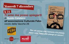 """Primo appuntamento romano con Guido Catalano per #piulibri2012 """"Ti amo ma posso spiegarti"""" imperdibile!"""