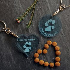 Your pets paw prints on an ice blue plastic keyring https://www.etsy.com/shop/tinytoescraftcreate1