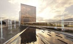Keelung New Harbor Service Building Competition Entry (2)